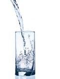 Glas des Wassers Stockbilder