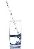 Glas des Wassers Stockfotografie
