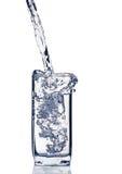Glas des Wassers Lizenzfreies Stockbild