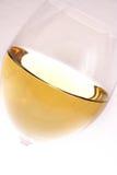 Glas des weißen Weins lizenzfreies stockfoto