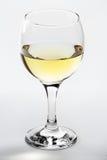 Glas des Weißweins Stockbild