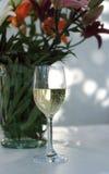 Glas des Weins Stockbild