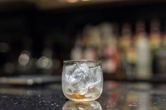 Glas Eis stockfoto