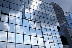 Glas en bewolkt Royalty-vrije Stock Afbeelding