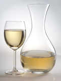 Glas en karaf Royalty-vrije Stock Afbeeldingen