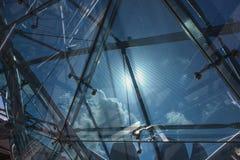 Glas en Metaal Royalty-vrije Stock Foto's