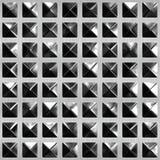 Glas en metaal Royalty-vrije Stock Afbeeldingen
