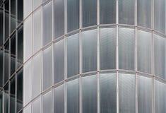 Glas en metaal, high-tech achtergrond stock afbeelding