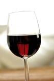 Glas fijne Italiaanse rode wijn Royalty-vrije Stock Afbeelding