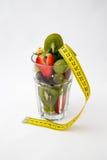 Glas Früchte Lizenzfreie Stockfotos