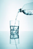 Glas of fresh water Royalty Free Stock Images