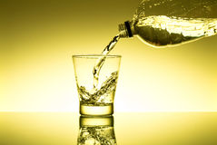 Glas of fresh water Royalty Free Stock Photos