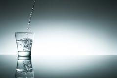 Glas of fresh water Stock Photo