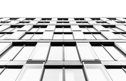 Glas front of an office building Royalty Free Stock Photo