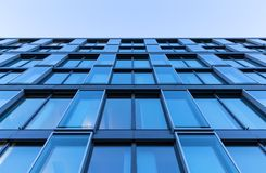 Glas front of an office building Royalty Free Stock Photography