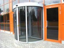 Glas gedraaide deur Stock Fotografie