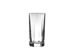 Glas getrennt auf einem Weiß Stockfotos