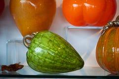 Glas Gevormd Fruit Stock Afbeeldingen