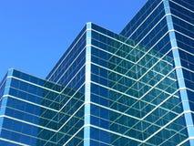Glas/glas- en Meer Glas Stock Afbeelding