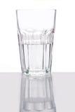 Glas halb voll Stockbilder