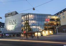 Glas Haus w Siegen, Niemcy fotografia stock