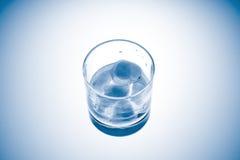 Glas. Herauf Ansicht Stockfotografie