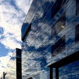 Glas- himmel Arkivbilder