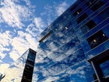 Glas- himmel Arkivbild