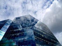Glas- himmel Arkivfoto
