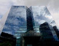 Glas- himmel Fotografering för Bildbyråer