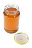 Glas Honig Lizenzfreie Stockbilder