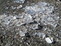 Glas ist ein heißer wertloser Abfall der Ware nicht gerade Stockbilder
