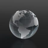 glas- jordklot Arkivbild