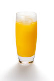 Glas Jus d'orange Royalty-vrije Stock Foto