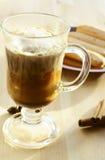 Glas Kaffee stockfotos