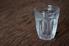 Glas kaltes Wasser Lizenzfreies Stockbild