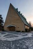 Glas Kirke lizenzfreie stockbilder