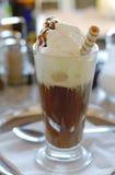 Glas koffie stock afbeelding