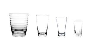 Glas leer lizenzfreie stockbilder