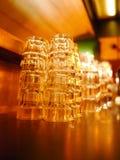 Glas Lege Bar Stock Afbeelding