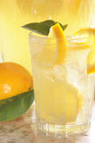 Glas Limonade Stockbild