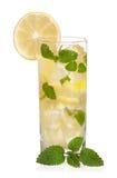 Glas Limonade Stockbild
