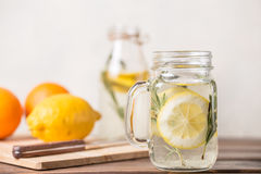 Glas Limonade Royalty-vrije Stock Foto