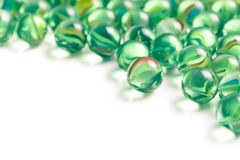 Glas marmeren ballen Royalty-vrije Stock Afbeelding