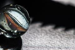 Glas marmeren macro 3 Stock Afbeelding