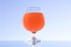 Glas met alcohol Royalty-vrije Stock Fotografie