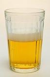 Glas met bier Stock Foto