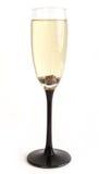 Glas met champagne Royalty-vrije Stock Foto