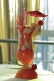 Glas met cocktails Royalty-vrije Stock Afbeeldingen