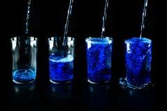 Glas met drank Royalty-vrije Stock Fotografie